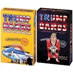 (Set) Donald Trump Card Games - Wackiest & Naughtiest Ever Ages 12+ & Adult (2)