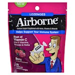 Airborne - Lozenges with Vitamin C - Berry - 20 Count (1)
