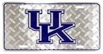"Kentucky Wildcats NCAA ""Diamond"" License Plate (1 Unit)"