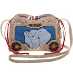 Dumbo Crossbody Purse - Made of Faux Leather w/ Drawstring & Shoulder Strap (1)