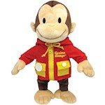Curious George Learn To Dress - Teaches Kids Basic Skills & Machine Washable (1)