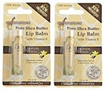 Out of Africa Shea Butter Lip Balm Tropical Vanilla 2 Tube Pack (1 Unit)