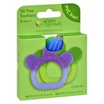 Green Sprouts Sili Paw Teether - 2 Pack Assorted (1)