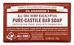 Dr. Bronner's All-One Hemp Eucalyptus Pure-Castile Soap Bar (1 Unit)