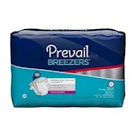 Incontinent Brief Prevail  Tab Closure Medium Disposable Heavy Absorbency (6)