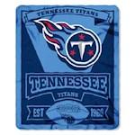 Tennessee Titans NFL Northwest Fleece Throw (1 Unit)