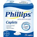 Genuine Phillips Laxative Dietary Supplement Caplets (1 Unit)