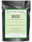 Buchu - 4:1 Natural Leaf Extract Powder (Barosma betulina), 4 oz (4 oz)
