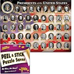 Presidents Of The United States 1000 Piece Puzzle w/ Hanger Preserver Kit (2)