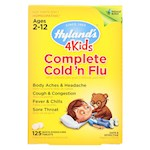Hylands Homeopathic Cold n Flu - 4 Kids - Complete - 125 Quick-Dissolving Tablets (1)