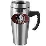 Florida State Seminoles NCAA Stainless Steel Travel Mug with Handle (1 Unit)