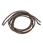 Stretch Elastic Dress Shoelaces, Brown, 70 cm by More of Me to Love (1 Pair)