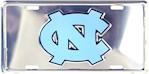 North Carolina Tar Heels NCAA Silver Mirror License Plate (1 Unit)