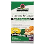 Nature's Answer - ExtractaCaps Turmeric and Ginger - 90 Veggie Caps (1)