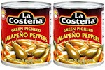 La Costeña Green Pickled Jalapeño Peppers 2 Can Pack (1 Unit)