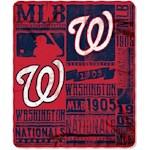 Washington Nationals MLB Northwest Fleece Throw (1 Unit)