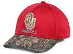 Oklahoma Sooners NCAA TOW Region Camo Stretch Fitted Hat (1 Unit)
