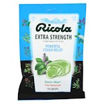 Ricola Cough Drop - Glacier Mint Extra Strength - 19 ct - Pack of 12 (12)