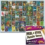 """Hardy Boys 1000 Piece Jigsaw Puzzle w/ Hanger Preserver Kit - 26.75"""" 19.25"""" (2)"""