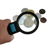 Super Bright Magnifying Glass - 10 LED's For A Shadow Free Circle Of Light (1)