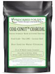 Coal-Conut (TM) - Coarse Granular Husk Activated Coconut Shell Charcoal - Food Grade (12/30 Mesh), 1 kg (1 kg (2.2 lb))