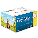 Easy Touch Insulin Syringes 31 Gauge 1cc 5/16 in - 100 ea (1)