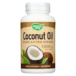 Nature's Way - Coconut Oil - 1000 mg - 120 Softgels (1)