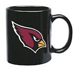 Arizona Cardinals NFL Black Ceramic Coffee Mug (1 Unit)