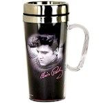 Elvis Presley Travel Coffee Mug with Handle - Gift for Collectors & Fans (1)
